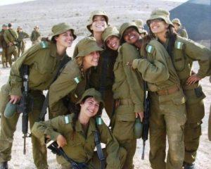Οι πανέμορφες γυναίκες του ισραηλινού στρατού! [pics]