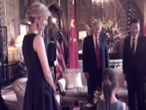 """Ιβάνκα Τραμπ: Η κόρη της """"τρέλανε"""" τον Κινέζο πρόεδρο με ένα τραγούδι! [vid]"""