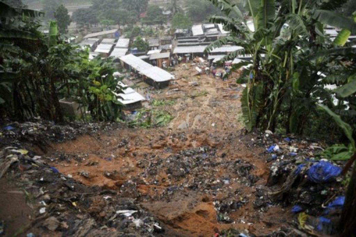 Καταστροφές και νεκροί από κατολισθήσεις στην Ακτή Ελεφαντοστού   Newsit.gr