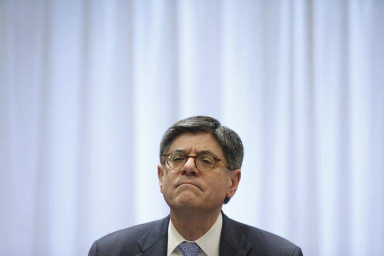 Τζακ Λιου σε Σόιμπλε: Τελειώστε γρήγορα την αξιολόγηση του ελληνικού προγράμματος | Newsit.gr
