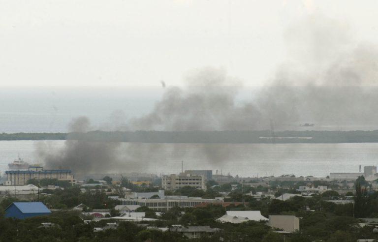 Συγκρούσεις κοντά στο αεροδρόμιο της Τζαμάικα   Newsit.gr