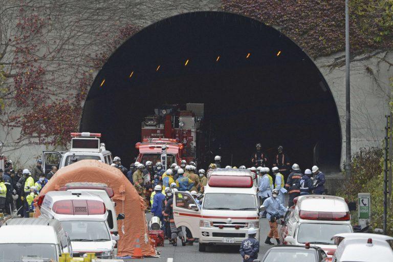 Εννέα οι νεκροί από την κατάρρευση σήραγγας στην Ιαπωνία | Newsit.gr