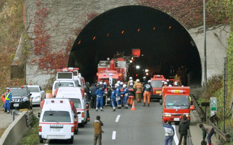Κατέρρευσε σήραγγα στην Ιαπωνία | Newsit.gr