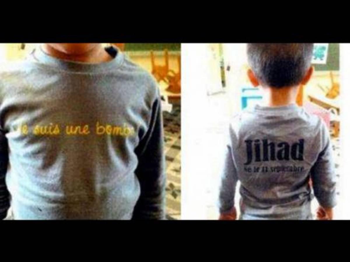 «Είμαι βόμβα» έγραφε η μπλούζα του μικρού Τζιχάντ και η μαμά του κινδυνεύει να μπει φυλακή! | Newsit.gr