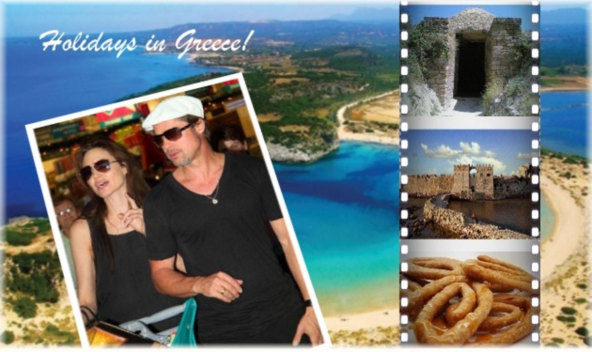 Ρεπορτάζ TLIFE: Οι διακοπές των Brangelina σε Πύλο και Μεθώνη! | Newsit.gr