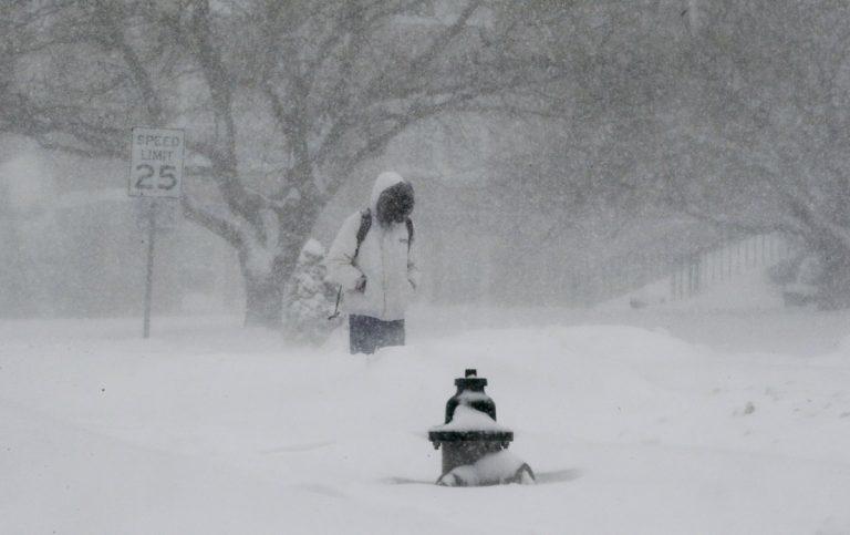 ΗΠΑ: Φονική χιονοθύελλα! 19 νεκροί από τον «Τζόνας»! Δείτε live εικόνα