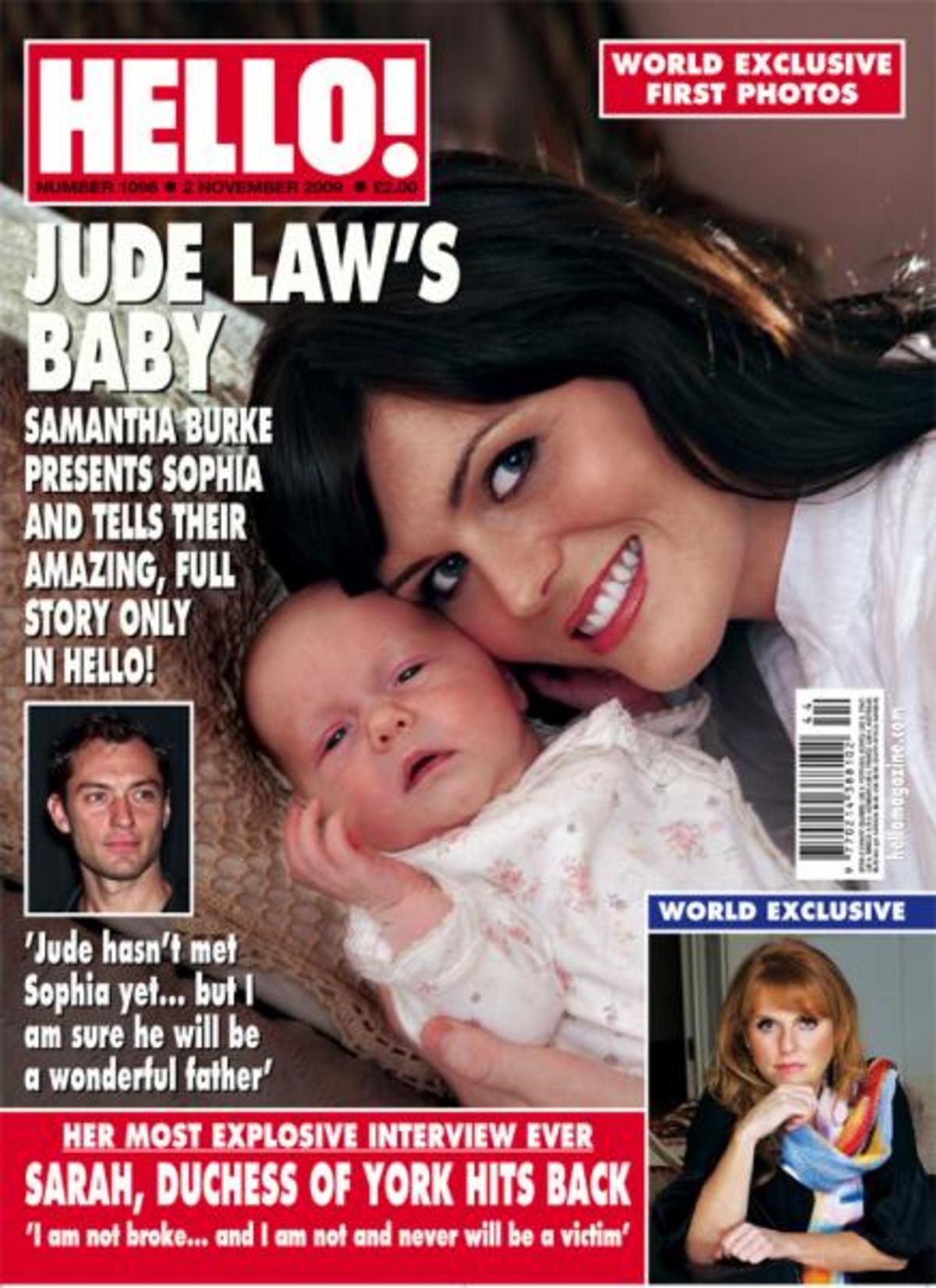 Οι πανάκριβες φωτογραφίες του μωρού του  Jude Law! | Newsit.gr
