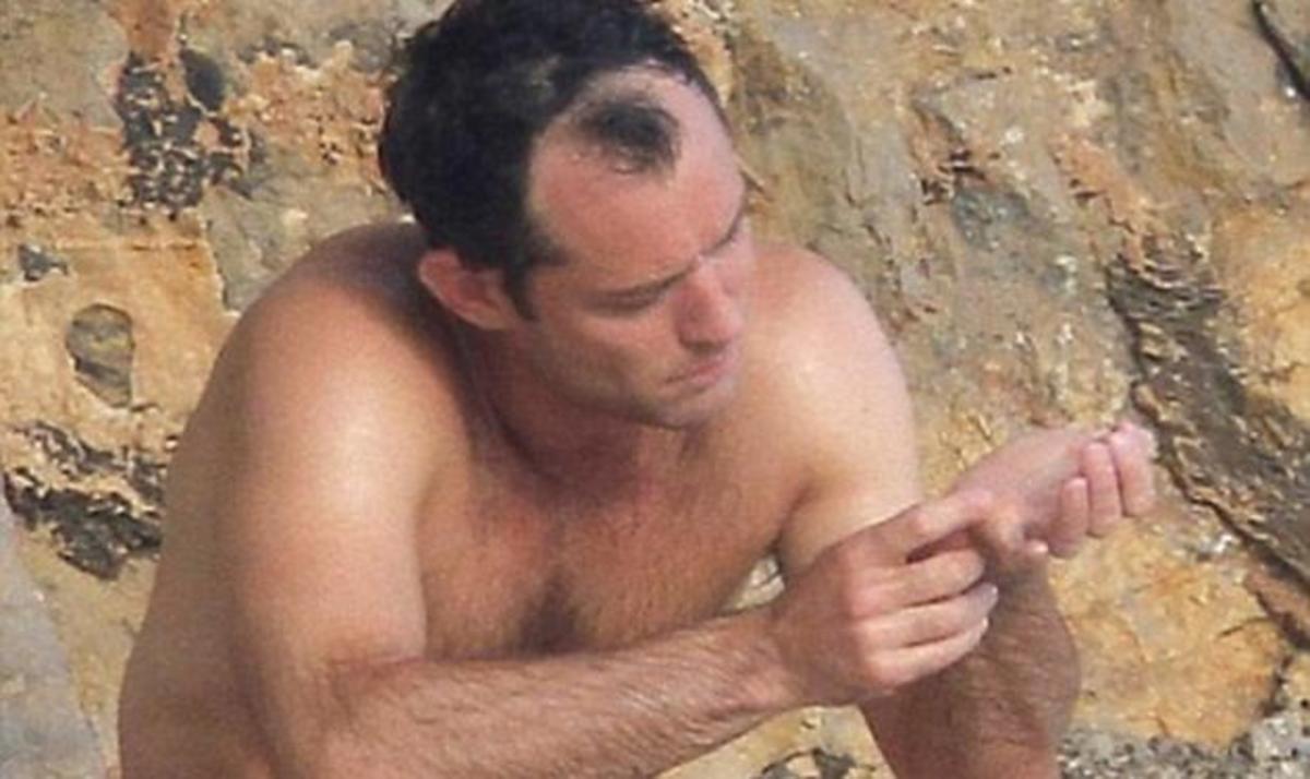 Jude Law: Τι συμβαίνει με τα μαλλιά του; | Newsit.gr