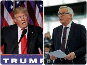 Γιούνκερ σε Τραμπ: Σταμάτα να υποστηρίζεις τη διάλυση της ΕΕ