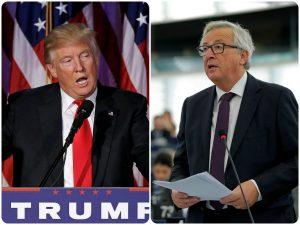 «Ποταμός» ο Γιούνκερ! «Να μάθουμε στον Τραμπ τι σημαίνει Ευρώπη»!