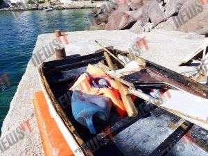 Τραγωδία στην Αίγινα: Κομματιάστηκε το τουριστικό σκάφος – Συγκλονιστικές εικόνες και μαρτυρίες – Έρευνες για αγνοούμενους [pics,vid]