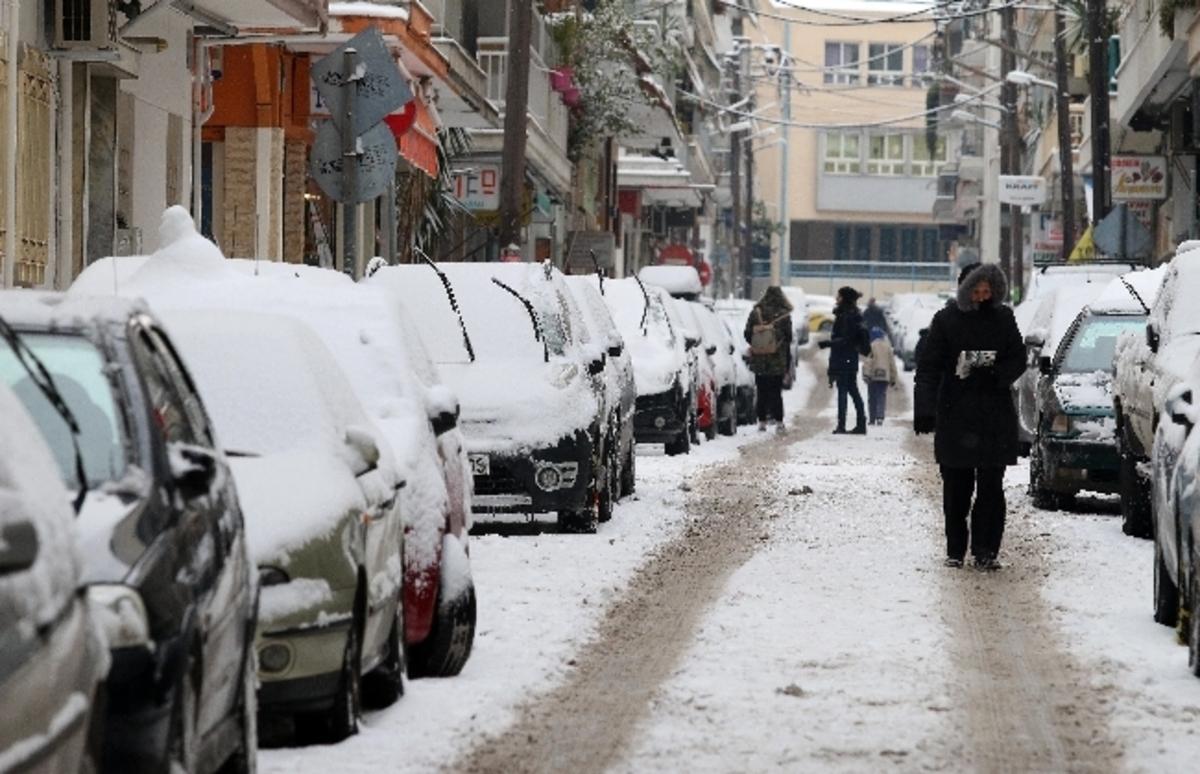 Καιρός με βροχές και χιόνια σε Αθήνα – Θεσσαλονίκη [meteo] | Newsit.gr