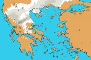Καιρός ΤΩΡΑ: Που θα χιονίσει τις επόμενες ώρες [χάρτης]
