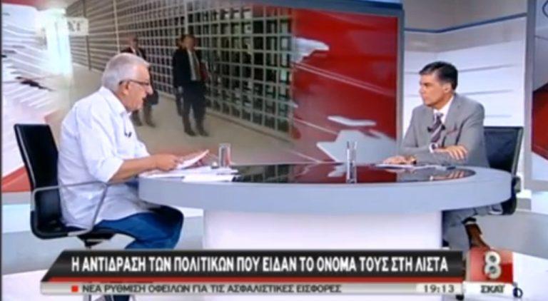Ν.Κακλαμάνης: Ο πρωθυπουργός να στείλει σπίτι του τον γραμματέα του ΣΔΟΕ   Newsit.gr