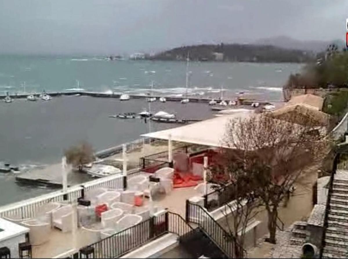 Κέρκυρα: Προβλήματα από θυελλώδεις ανέμους – Δείτε το βίντεο!   Newsit.gr