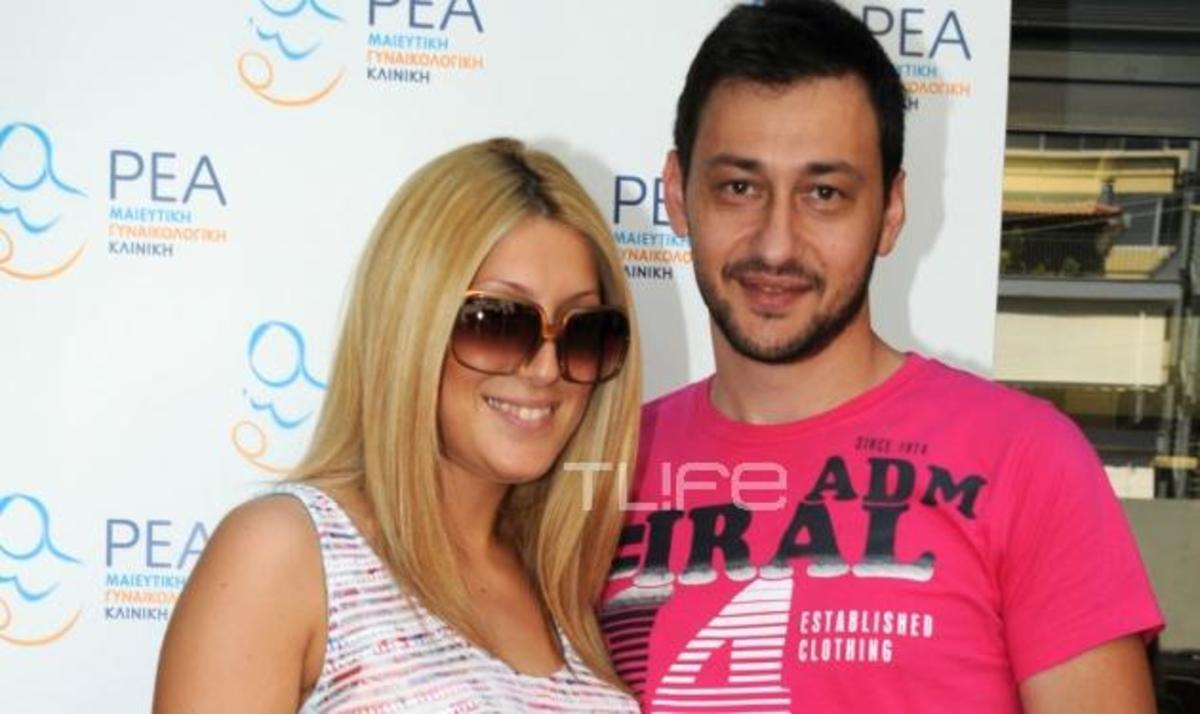 Π. Καλλίδης – E. Μάρκογλου: Επιστροφή στο σπίτι μετά τη γέννησης της κορούλας τους! | Newsit.gr