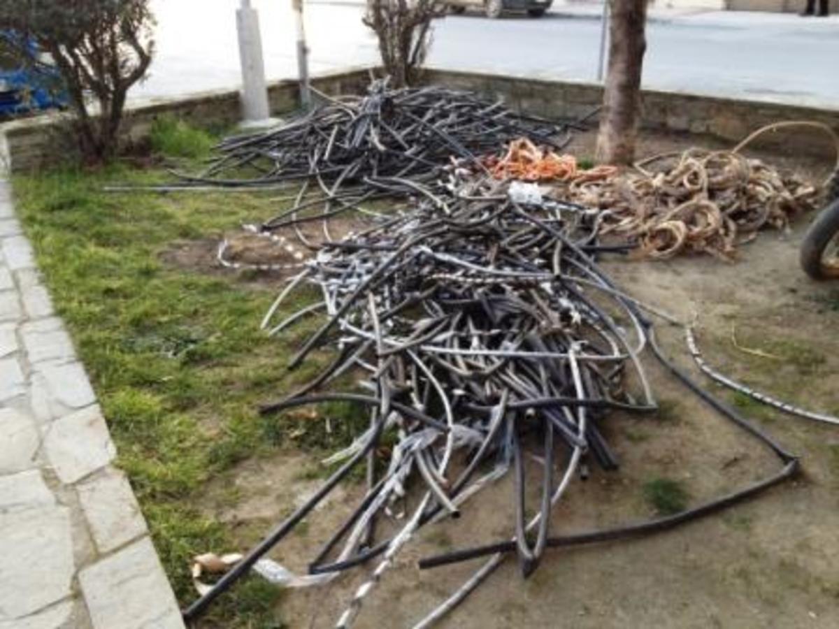 Συνεχίζουν απτόητοι τις κλοπές καλωδίων – Τρεις συλλήψεις σε Κιλκίς και Αλεξανδρούπολη | Newsit.gr