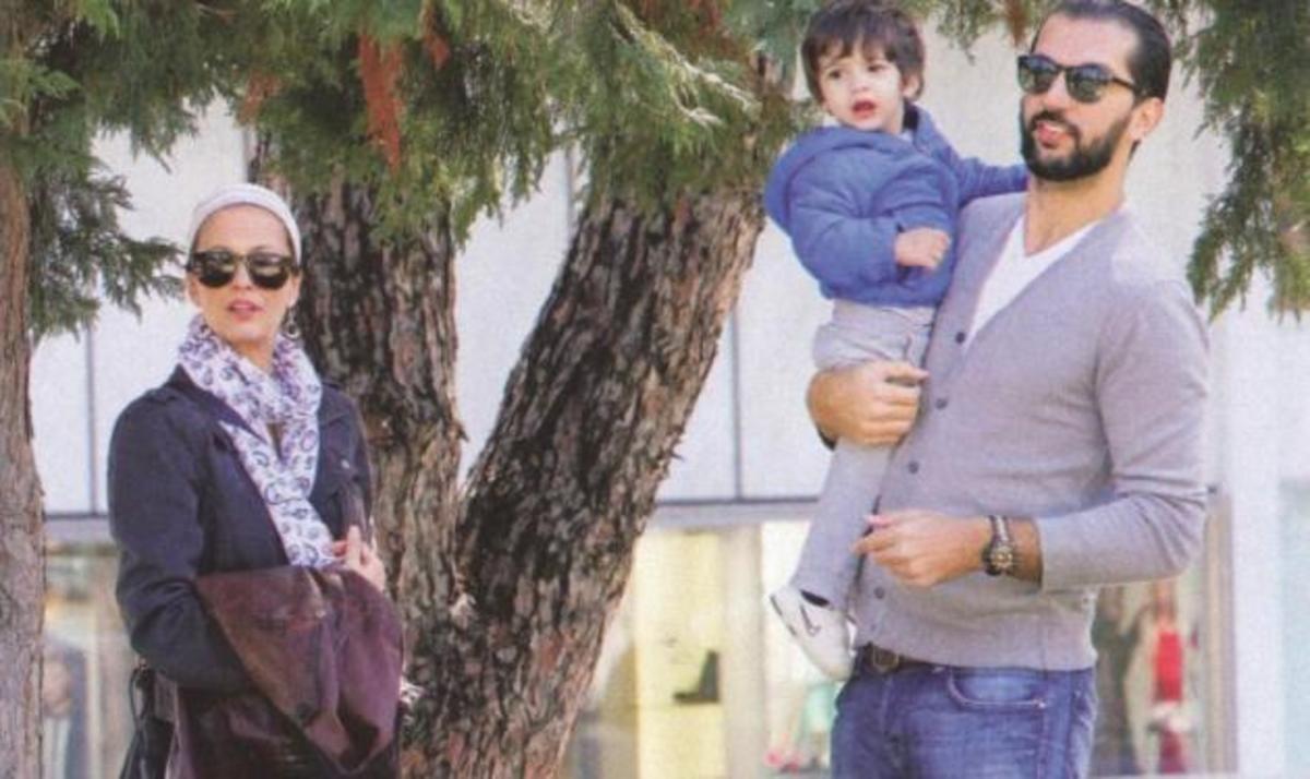 Αλέκα Καμηλά: Με τον σύζυγό της και τον γιο τους Μάξιμο στην παιδική χαρά! | Newsit.gr