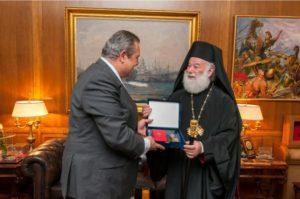 Συνάντηση του υπουργού Άμυνας με τον Πατριάρχη Αλεξανδρείας στο Πεντάγωνο – Τί συζήτησαν