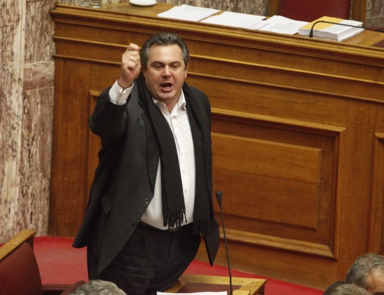Καμμένος για συνεργασία με ΠΑΣΟΚ-ΝΔ: «Ούτε νεκρός!» | Newsit.gr