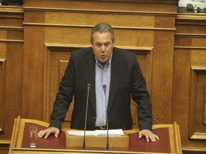 Βουλή – Καμμένος κατά πάντων! Επιτέθηκε σε ΝΔ και ζήτησε εισαγγελική παρέμβαση για Σάφα