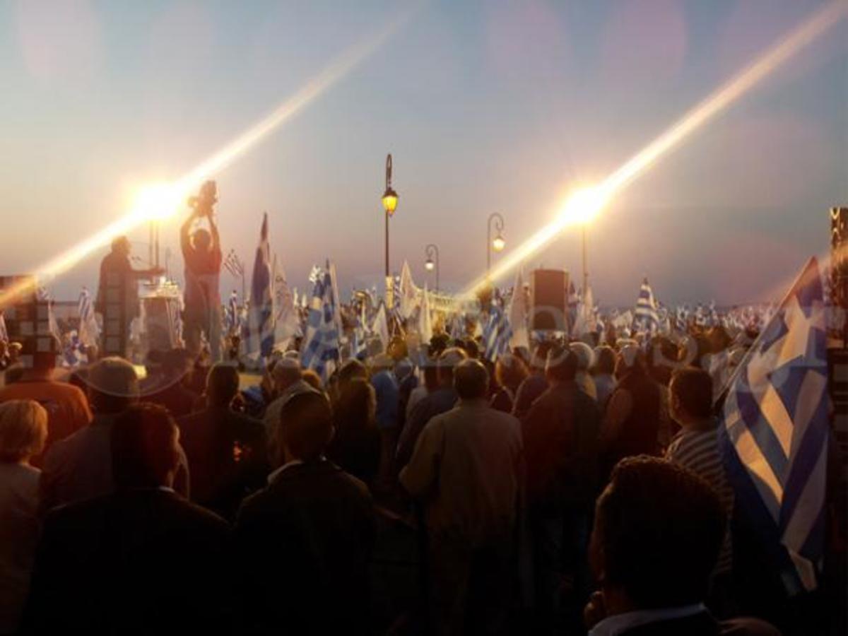 Μεγάλη συγκέντρωση του Πάνου Καμμένου στο Ηράκλειο – ΦΩΤΟ | Newsit.gr