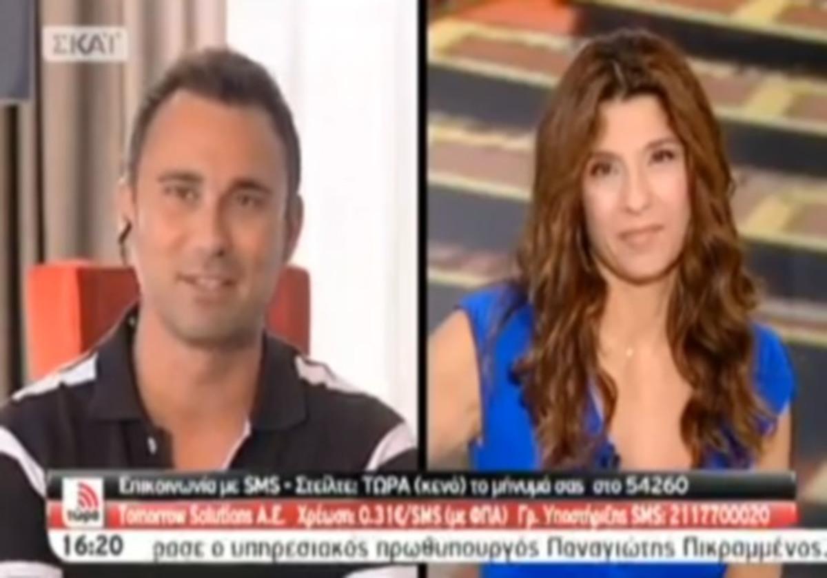 Ο Καπουτζίδης αποκαλύπτει στην Τσαπανίδου αν ετοιμάζει νέο σίριαλ ή όχι | Newsit.gr