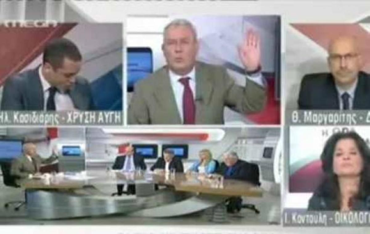 Ο Καψής έδιωξε on air τον εκπρόσωπο της Χρυσής Αυγής! | Newsit.gr
