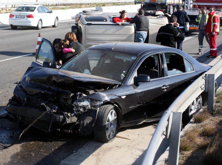 Τριπλή καραμπόλα  με 5 τραυματίες στο Ηράκλειο | Newsit.gr