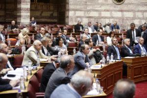 Βουλή Live: Εγκρίθηκαν επί της αρχής τα μέτρα από ΣΥΡΙΖΑ – ΑΝΕΛ – Σε εξέλιξη η συζήτηση των άρθρων
