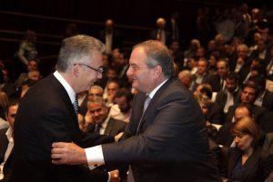 Συνάντηση Καραμανλή – Ρουσόπουλου – Επιστρέφει στην πολιτική;