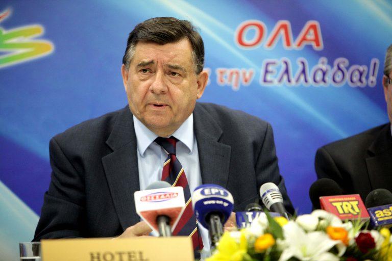 Καρατζαφέρης: Ο λαός να ψηφίσει με γνώμονα τις ανάγκες της χώρας   Newsit.gr