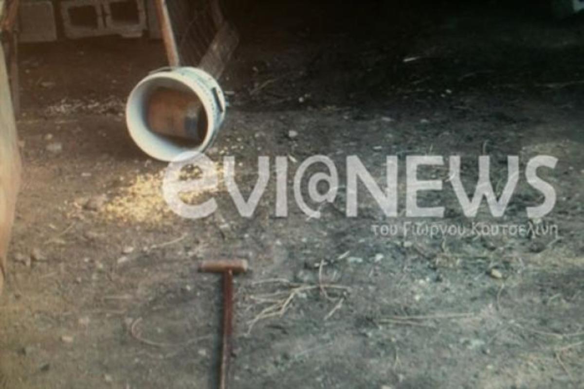 Κάρυστος: Εικόνες από τον τόπο του φρικτού εγκλήματος – Έγινε για 40 ευρώ και λίγα χρυσαφικά… | Newsit.gr