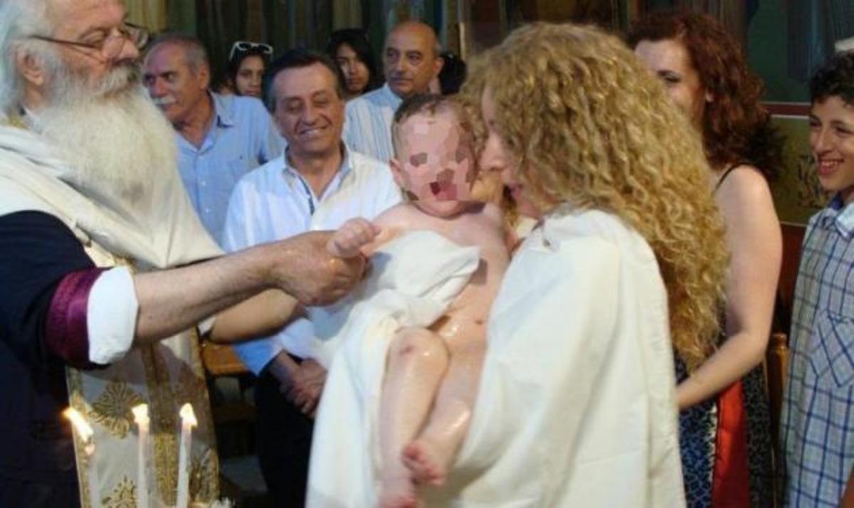 Η κόρη της Κάρμεν Ρουγγέρη, Xριστίνα, έγινε νονά! Φωτογραφίες | Newsit.gr