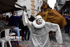 Εντυπωσιακές εικόνες από την έναρξη του καρναβαλιού στο Ναύπλιο [pics, vid]