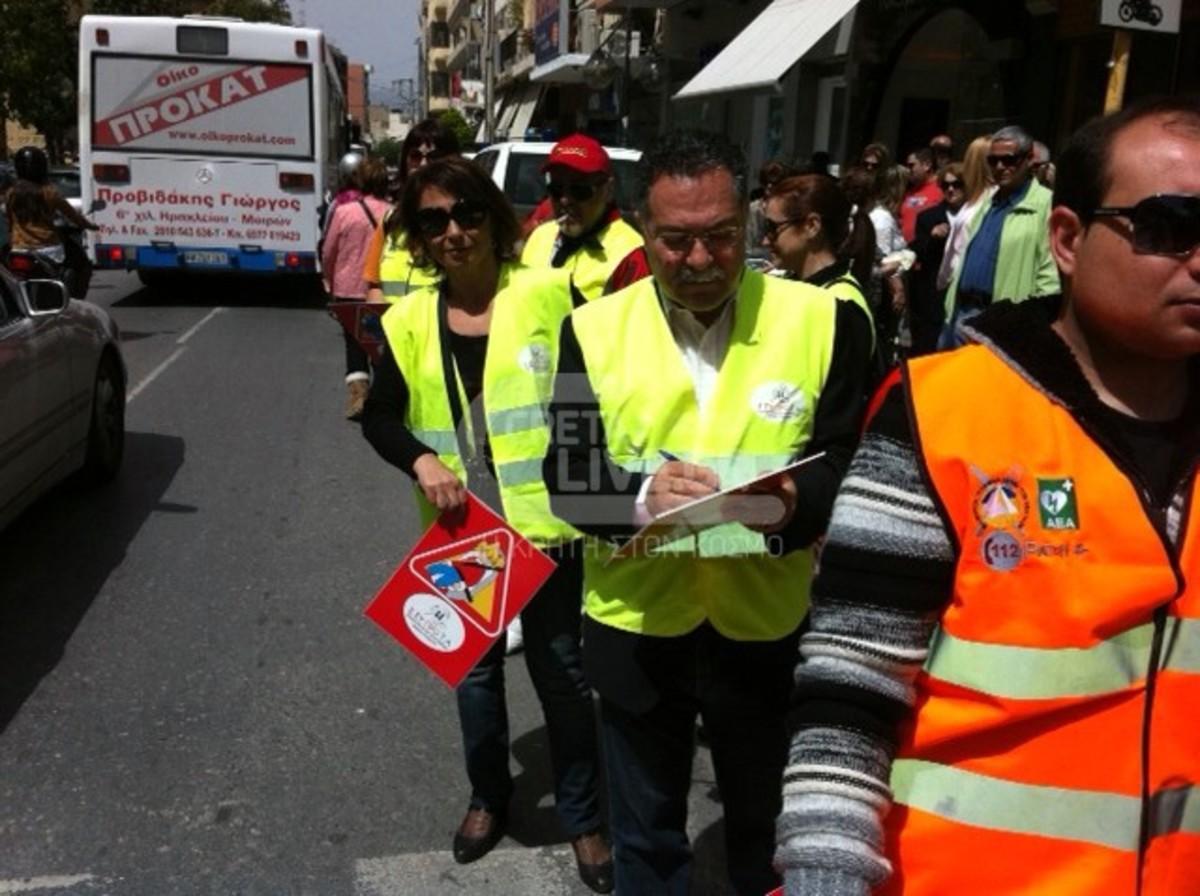 Ηράκλειο: «Κράξιμο» στους ασυνείδητους οδηγούς | Newsit.gr