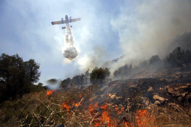 Στις φλόγες ξανά η Κάρυστος – Φωτιές και σε Σαλαμίνα – Μάνη   Newsit.gr