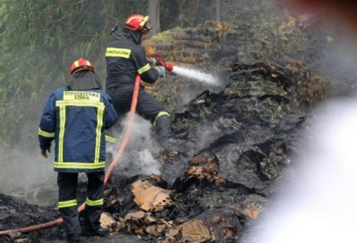 Κρήτη: Πανικός από φωτιά στο αεροδρόμιο Καστελίου   Newsit.gr