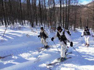 Επιχειρησιακή Εκπαίδευση B΄ Μοίρας Καταδρομών στα χιόνια