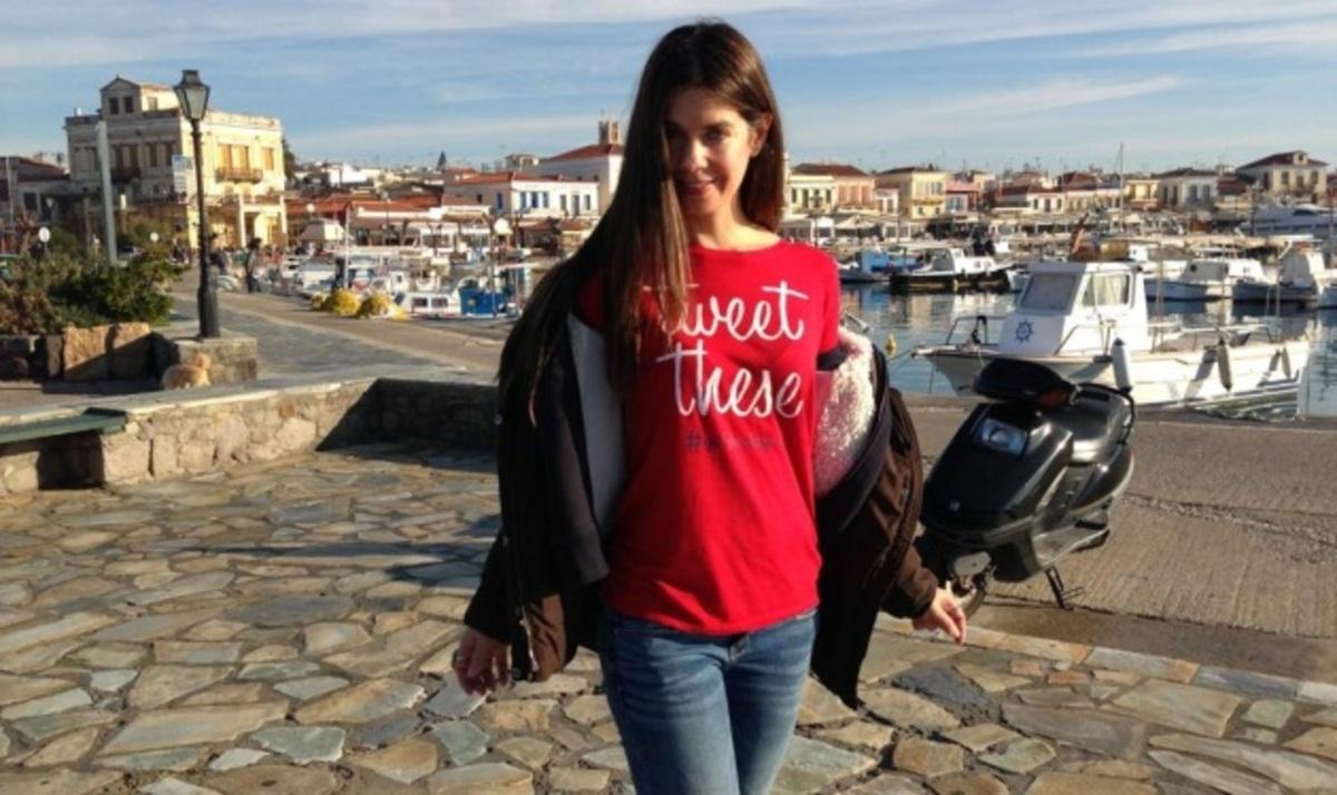 Κ. Μουτσάτσου: Ήρθε για τις γιορτές στην Ελλάδα!   Newsit.gr