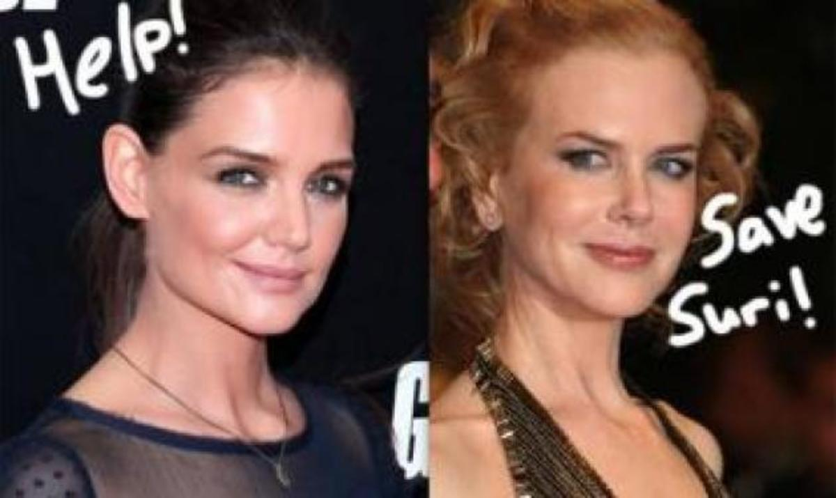 Katie Holmes: Τηλεφωνούσε κρυφά στην N. Kidman λίγο πριν χωρίσει από τον Tom; | Newsit.gr