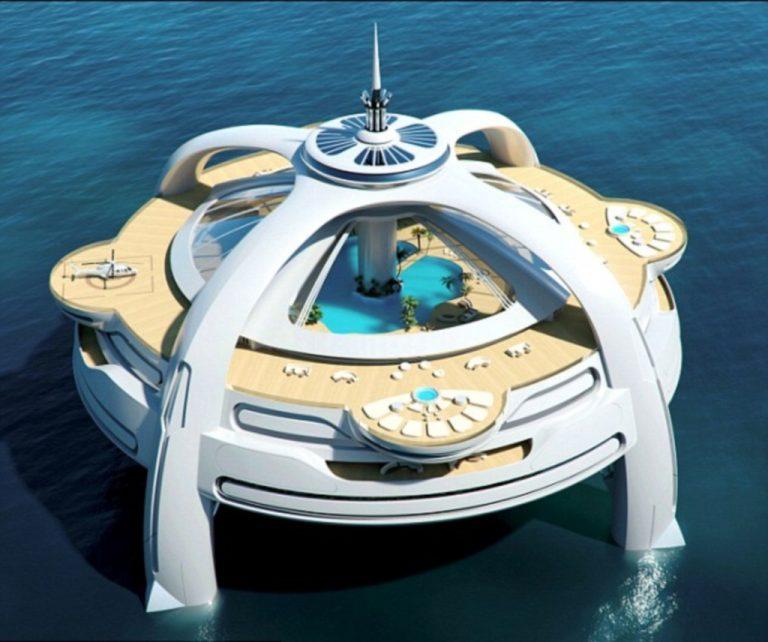 Η πλωτή πολιτεία του μέλλοντος! Δείτε φωτογραφίες | Newsit.gr