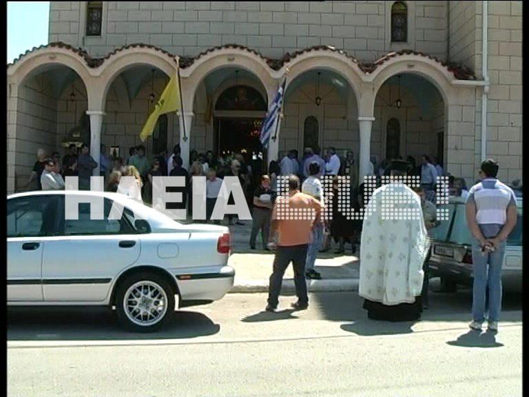 Πύργος: Αποχαιρέτησαν το αγγελούδι τους -Kηδεύτηκε η μικρή Ελένη   Newsit.gr