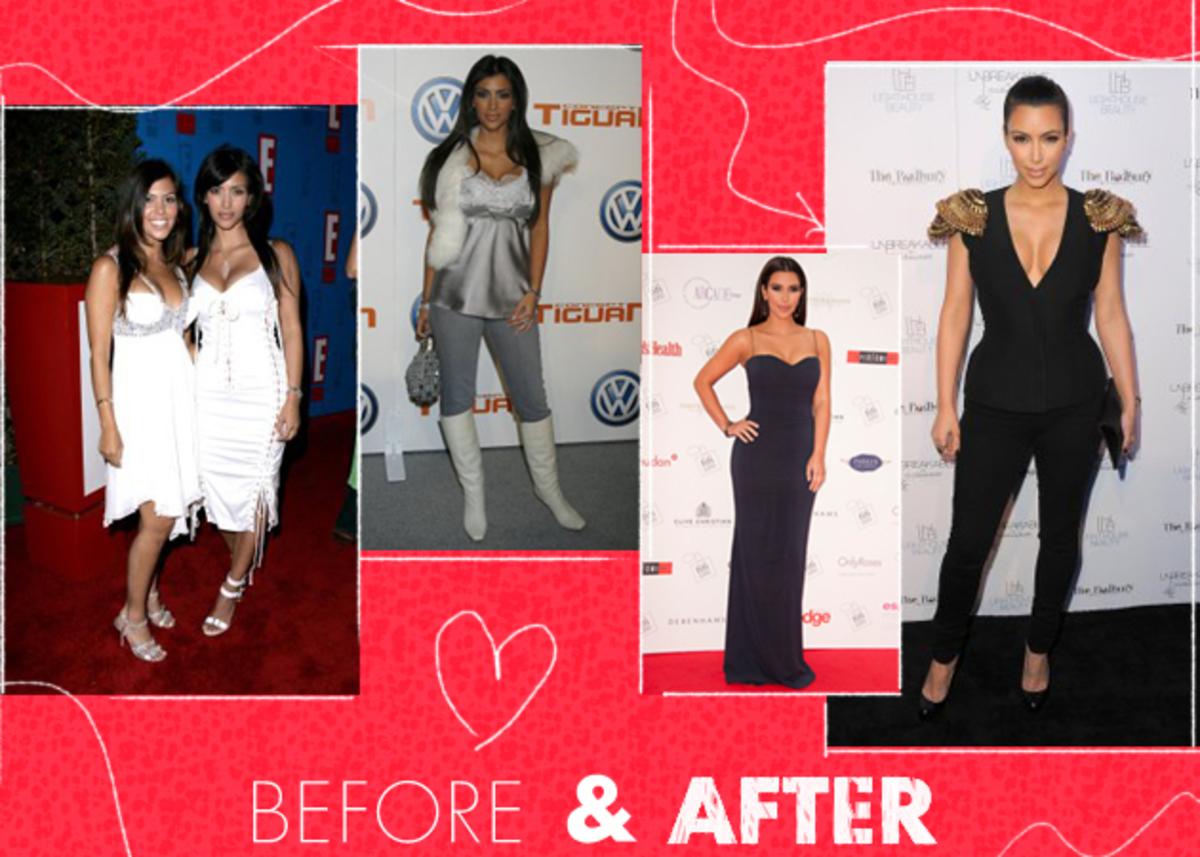 Η στιλιστική εξέλιξη της Kim Kardashian! | Newsit.gr