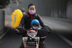 """""""Κόκκινος"""" συναγερμός στο Πεκίνο εξαιτίας της ατμοσφαιρικής ρύπανσης"""
