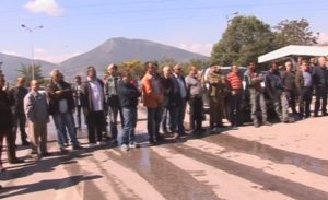 Κοζάνη: Διαμαρτυρία περιφερειακών συμβούλων για την πώληση ορυχείων της ΔΕΗ