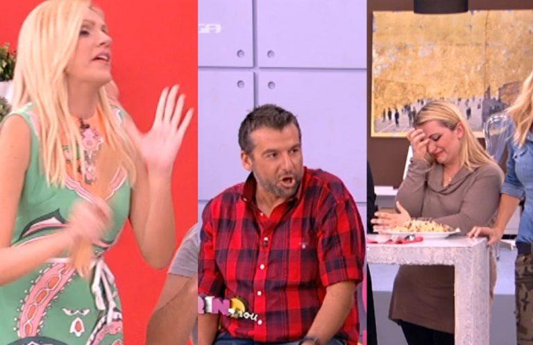 Η τηλεθεάτρια έβαλε τα κλάματα από τα σχόλια Σταμάτη-Λιάγκα για το φαγητό της!   Newsit.gr