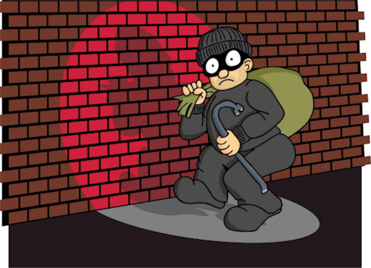 Ο πιο γκαντέμης κλέφτης ever!   Newsit.gr