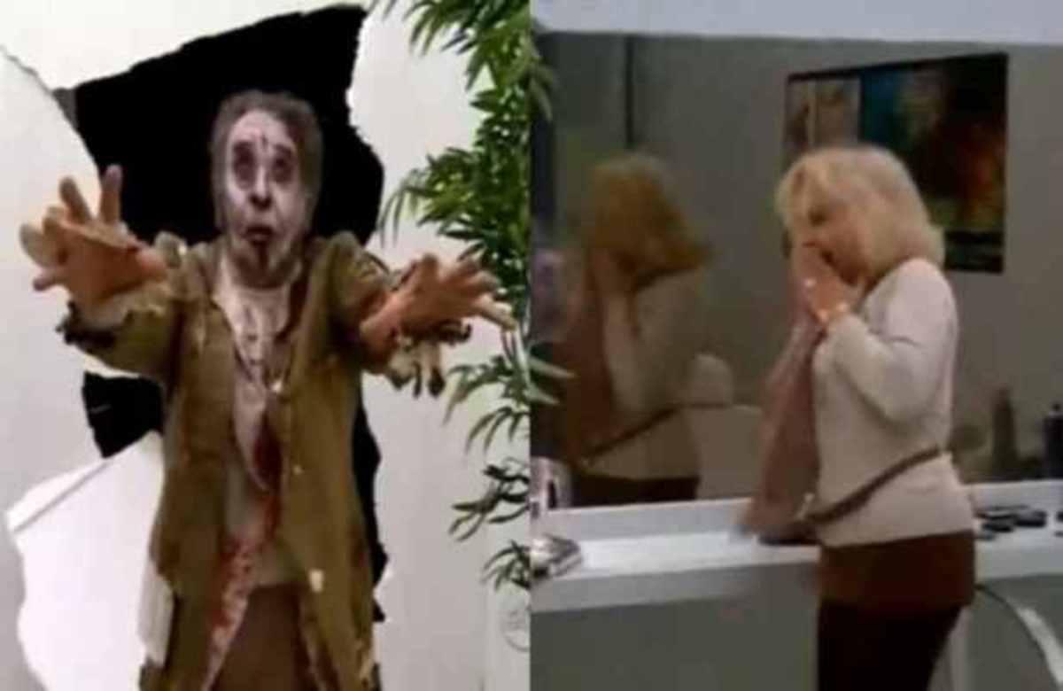 H απίστευτη αντίδραση του κόσμου όταν στο καμαρίνι εμφανίστηκαν ζόμπι! | Newsit.gr
