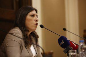 Σφάχτηκαν Ζωή Κωνσταντοπούλου και δικαστές